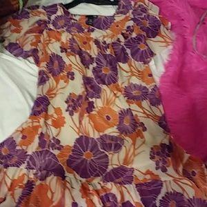 H&M floral dress 12